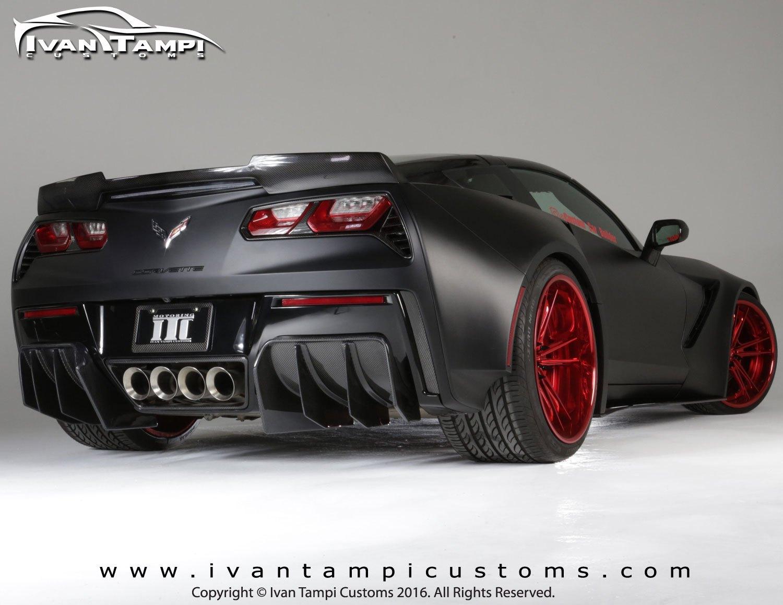 Xik Widebody Kit For The C7 Z06 Grand Sport Corvette
